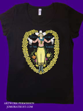 Bella Sweetheart of the Rodeo T-shirt image