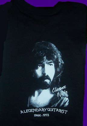 Clarence White t-shirt back image