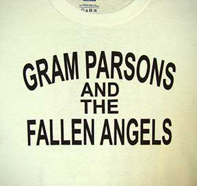 Gram Parsons and the Fallen Angels t-shirt