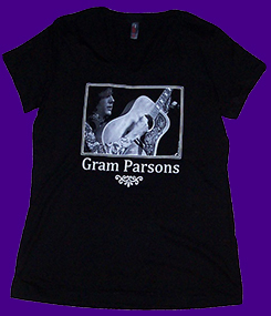 Women's Gram Parsons Guitar shirt