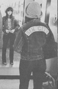 Linda Ronstadt wearing jacket with patch